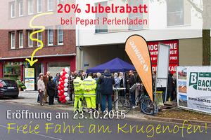 Eröffnung Krugenofen | Rabatt-Aktion