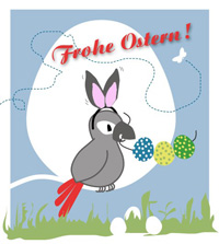 Pepari wünscht frohe Ostern!